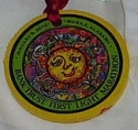 First Light Half Marathon Medal 2012