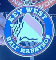 Key West Half Marathon Medal 2011