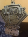 Palm Beaches Half Marathon Medal 2011