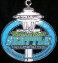 Rock and Roll Seattle Half Marathon Medal 2011