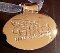 You Go Girl Half Marathon Medal 2010