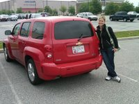 Our sweet ride!  I miss you HHR...