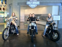 Harley Factory with the Rossmans