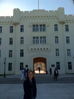 Kristin at The Citadel