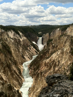 Artist Point - Grand Canyon of Yellowstone Lower Falls